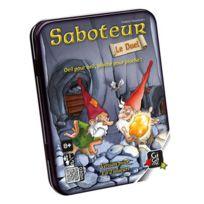 Gigamic - Jeux de société - Saboteur Le Duel Boite Métal