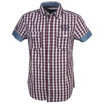 Rms26 - Chemise manches courtes Rms 26 Matis rouge mc shirt Rouge 52818