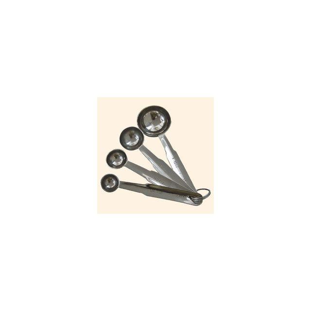 De Buyer Set De 4 Mesures-cuillères - 1-2.5-5 Et 15 Ml