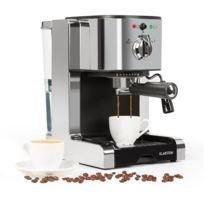 KLARSTEIN - Passionata 15 Machine à expresso 15 bars Capuccino Mousseur de lait - argentée