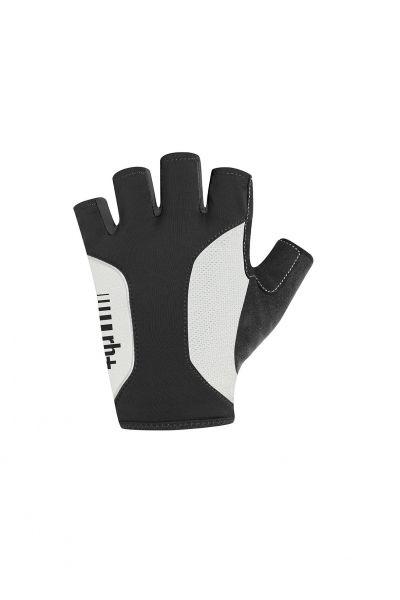 Zerorh Zero Rh + Logo Gloves Noirs Et Blancs Gants Cyclisme