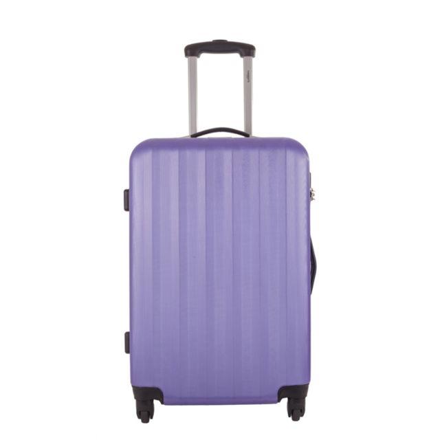 torrente valise digama violet taille m 25cm 61 l 6 22058 valises trolleys pas. Black Bedroom Furniture Sets. Home Design Ideas