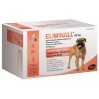 Zoetis - Pack 2 X Eliminall Chiens +40 Kg 402 Mg 6 Pipetes