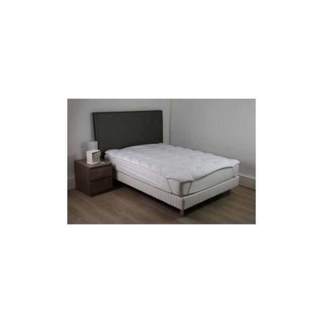 DODO - Surmatelas 90 x 190 - Polyester Conforloft - Moelleux - Confort NC - pas  cher Achat   Vente Sur-matelas - RueDuCommerce b534ef76d39d