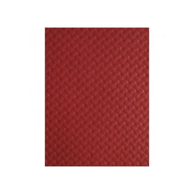 Materiel Chr Pro Set De Table Jetable En Papier Couleur Bordeaux
