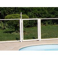 CHALET & JARDIN - Portillon transparent pour barrière de piscine