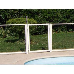 Chalet jardin portillon transparent pour barri re de for Barriere pour jardin