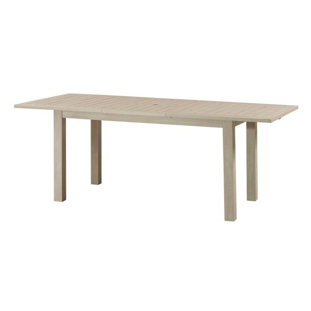 House Bay Table de jardin extensible en acacia Fsc pieds droits Silverwood