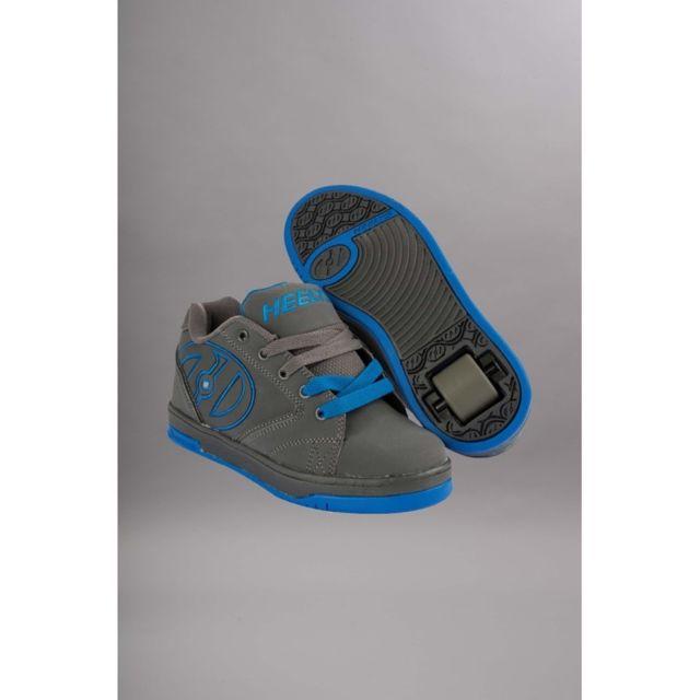 d2af4e392cf46 Heelys - chaussure a roulette Propel 2.0 Grey royal - pas cher Achat   Vente  Chaussures à roulettes - RueDuCommerce