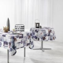 Linge Des Domes - Cdaffaires nappe rectangle 150 x 240 cm polyester photoprint nordis
