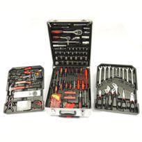 Lbh Tools - Coffret d'outils trolley aluminium 186 pièces Lb-428