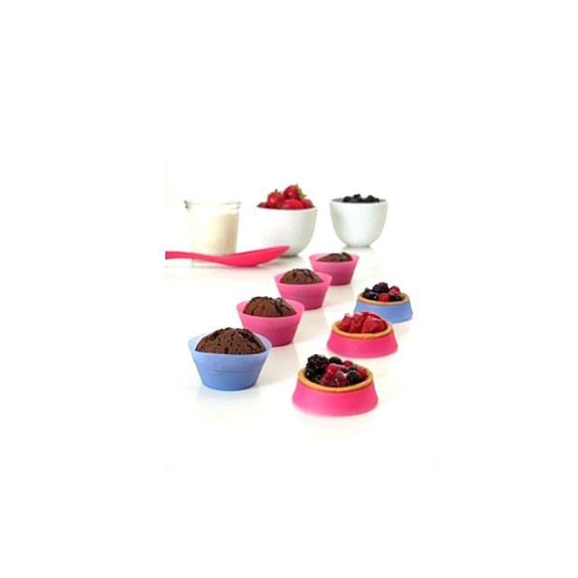 MAISON FUTEE Moules à muffins et tartelettes - Par 6