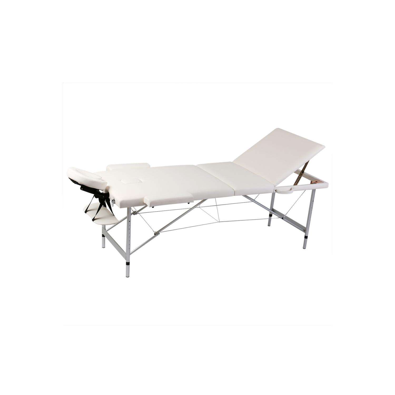 rocambolesk superbe table de massage pliante 3 zones cr me cadre en aluminium neuf nc pas. Black Bedroom Furniture Sets. Home Design Ideas