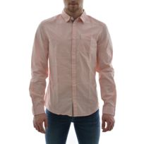 Guess jeans - Chemise ls peached shirt rose Xxl