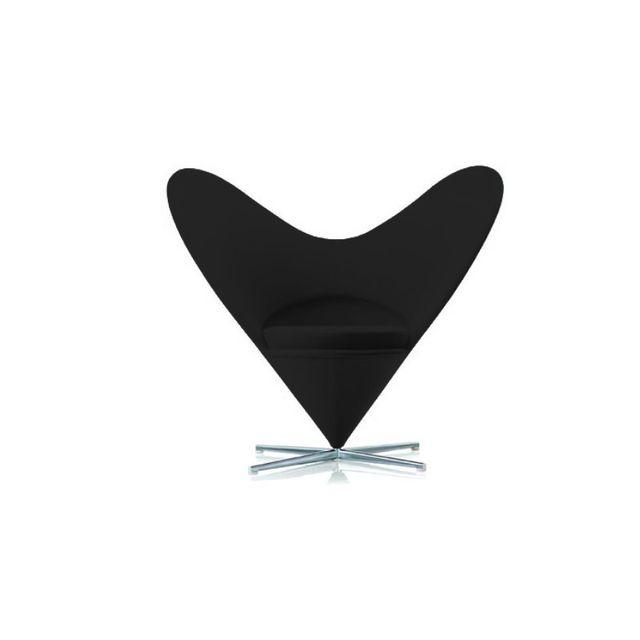 Cosy&TENDANCE Fauteuil Design 9 - Mich Coloris - Noir