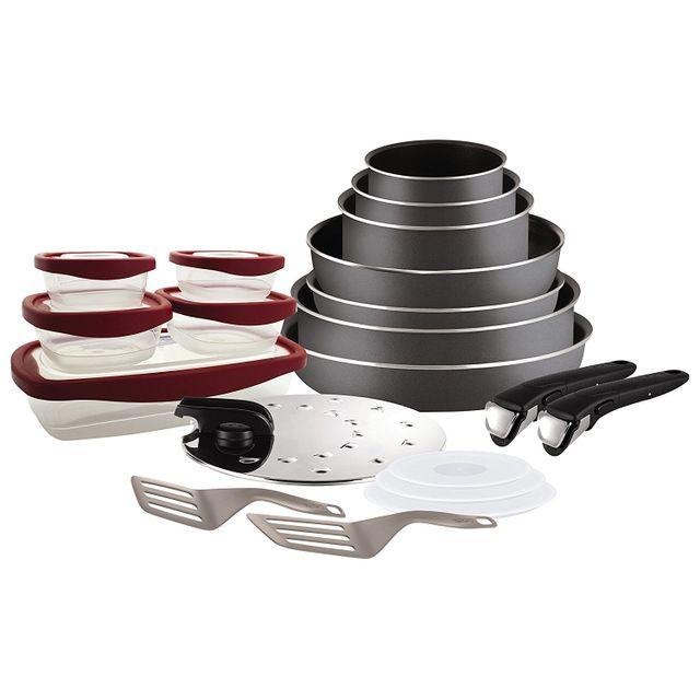62b04665037203 TEFAL - INGENIO - Set poêles et casseroles 20 pièces - L2049102 ...