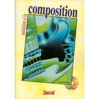 Play Music Publishing - Méthodes Et Pédagogie Devignac Emmanuel - Initiation A La Composition + Cd - Guitare Tab Guitare Acoustique