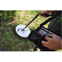 High-Tech Place - Nugget - Detecteur de metaux, Plaque de detection 9.5, Resistant a l'eau, Valise de transport