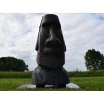 UBBINK - Fontaine de jardin Orito statue de l'Île de Paques avec LED