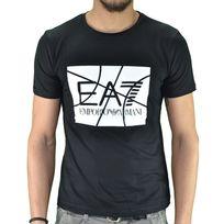 Armani - Ea7 - Tee Shirt Manches Courtes - Homme - Ea7 6xpt89 Volley - Noir