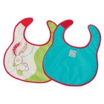 Great Gizmos - My First Nici Lot De Deux Bavoirs Lapin