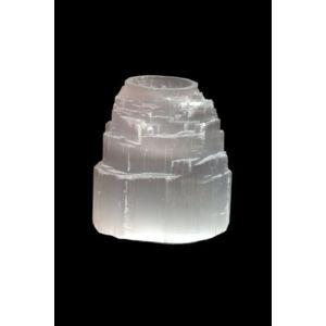 Lampe de sel - Bougeoir Montagne en Sélénite
