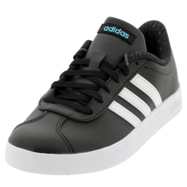 quality design 98583 e15c8 Adidas Neo - Chaussures mode ville Vl court 2.0 k noir blc Noir 39109 - pas  cher Achat  Vente Baskets enfant - RueDuCommerce