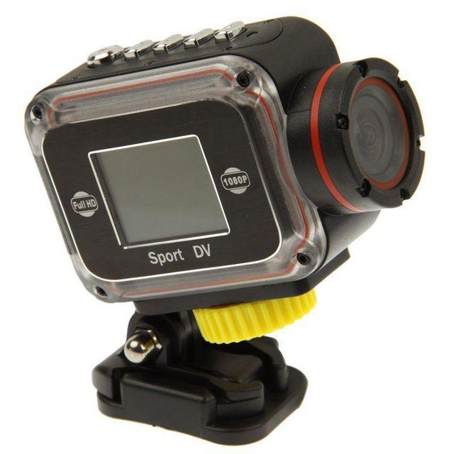 Yonis - Mini Caméra sportive Full Hd waterproof Grand angle étanche Hdmi 8 Go