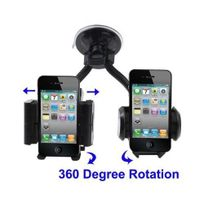 Yonis - Double support universel voiture iPhone Smartphone Gps Mp4 Holder