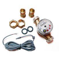 Gioanola - Compteur d'eau froide avec sortie impulsion 1 imp. / 1 litre
