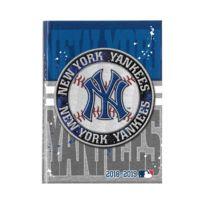 Mlb - New York Yankees - Agenda Année Scolaire 2018-2019 Multilingue - 17x12cm - Bleu