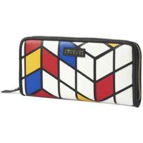 L'AETELIER Caesars - Atelier Caesars Portefeuille Patty Mondrian Femme Collection Printemps Eté