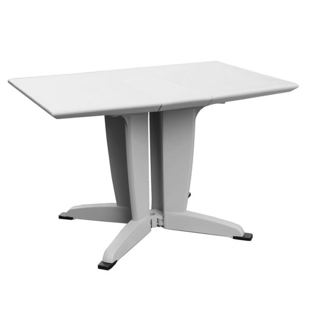 RUE DU COMMERCE - Table de jardin pliante - 114x80 cm ...