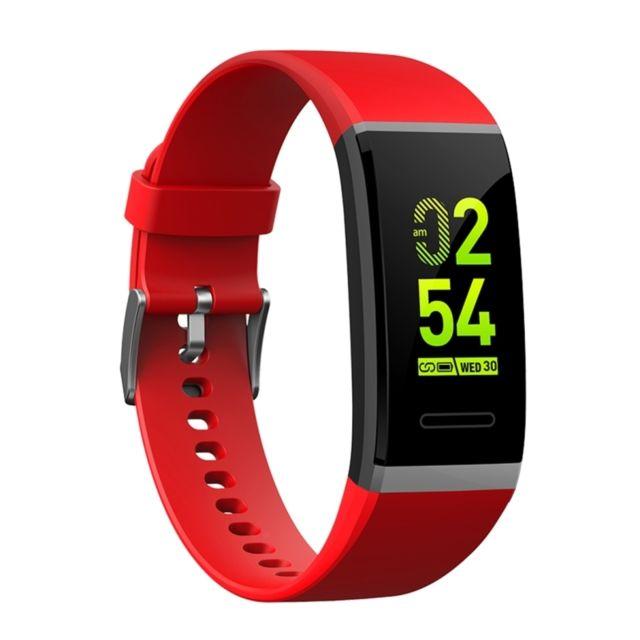 Wewoo - Bracelet connecté Smartwatch Fitness Tracker Smartband écran Oled  0.96 pouce, Ip67 étanche, 51c704404bf