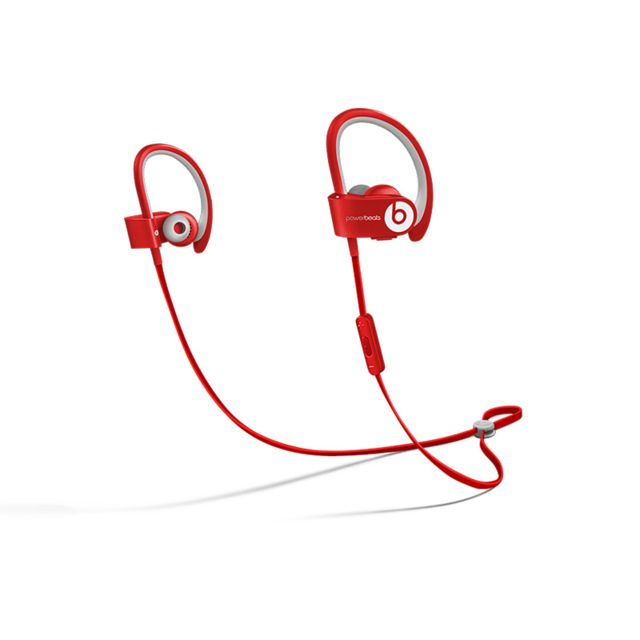beats ecouteur powerbeats 2 intra bluetooth rouge pas cher achat vente casque rueducommerce. Black Bedroom Furniture Sets. Home Design Ideas