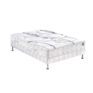 bultex ensemble nano clearness 24 cm confort morphologique 120x190 blanc pas cher achat. Black Bedroom Furniture Sets. Home Design Ideas