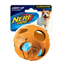 Nerf Dog - Balle Led Bash Tpr - 9 cm