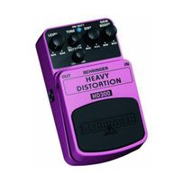 Behringer - Hd300 Heavy Distortion Effektpedal Pédale d'effet 50 Hz Import Royaume Uni