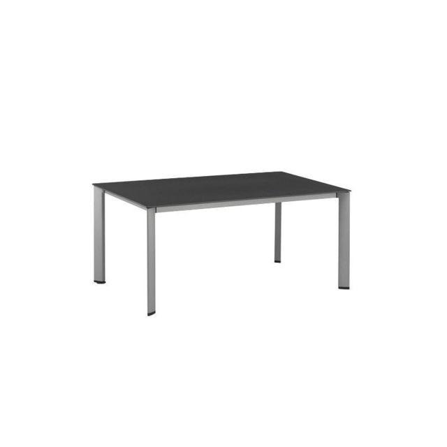 Kettler - Table de jardin Loft aluminium et résine - pas ...