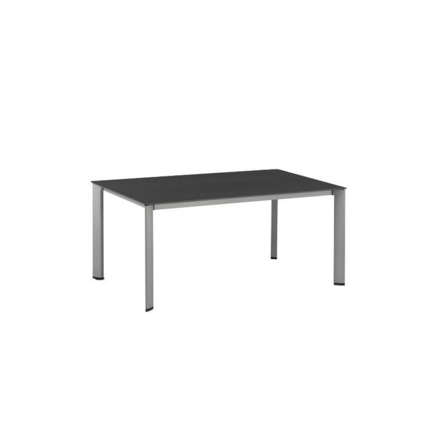 Table de jardin Loft aluminium et résine