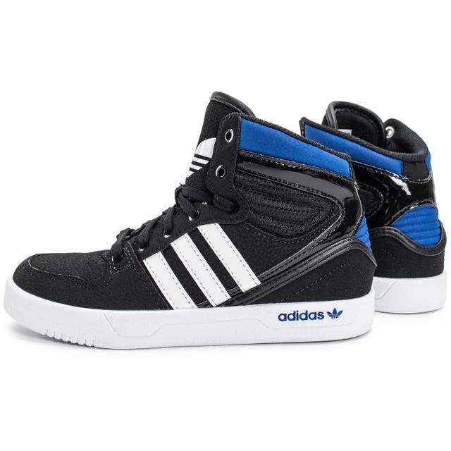 adidas Court Attitude Enfant Noir Or Chaussures adidas