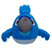 Angry Bird - s Peluche sonore blu 15 cm