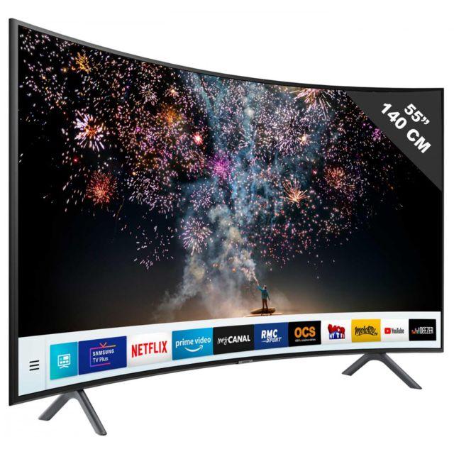 4c7af95f318 Samsung Tele Led 55 A 64 Pouces Ue 55 Ru 7305 pas cher - Achat   Vente TV  LED de 50   à 55   - RueDuCommerce