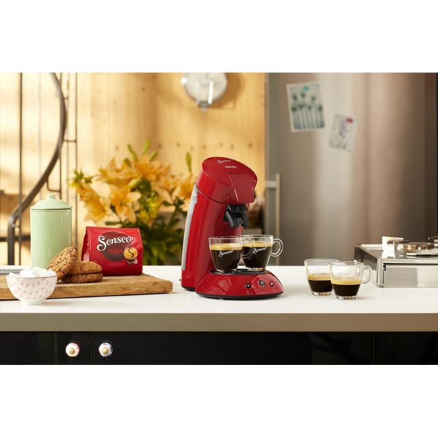 Philips Machine à café Senseo de 0,7L 1450W rouge