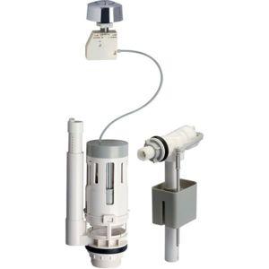 gnrique kit chasse d eau ensemble complet l mcanisme bouton poussoir et with mecanisme chasse d. Black Bedroom Furniture Sets. Home Design Ideas