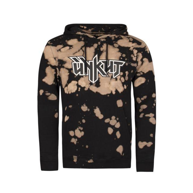 Unkut - Sweat à capuche Pitbull noir - pas cher Achat   Vente Sweat homme -  RueDuCommerce ffc5678f13ae