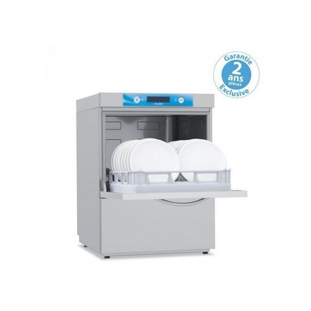 Materiel Chr Pro Lave-vaisselle avec adoucisseur en continu - 7,9 kW - panier 50x50 cm - Elettrobar - 400V triphase
