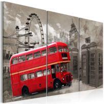 Artgeist - Tableau | Red bus | 60x40