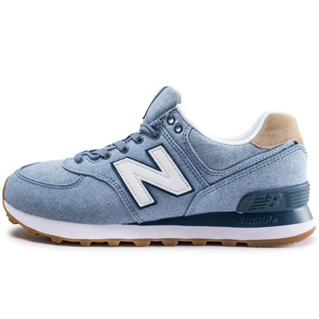 New Balance Ml574stb Bleue pas cher Achat Vente