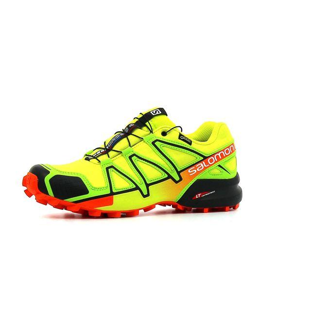4053cdbb3bc7 Salomon - Chaussure de Trail homme Speedcross 4 Gtx homme Jaune - 45 ...